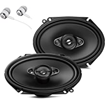 """Pioneer TS-A1670F TS-A6970F 6.5/"""" 3-Way and 6x9/"""" 5-Way Speakers W// FREE Tweeters"""