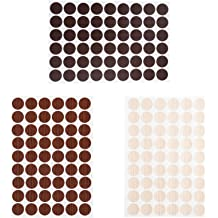 Bluecell 3 Sheets Home Office Screw Holes Cover Caps Self Adhesive Stickers Bluecell World
