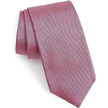 Blue 50369813 Hugo Boss Micro-dot Pattern Italian Silk Tie