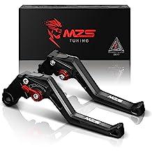 CNC Short 3D Brake Clutch Levers for Kawasaki GPZ500S//EX500R Ninja 90-09 ZXR400