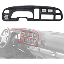 ECOTRIC Dash Pad Overlay Cover Board Dashboard for 1984-1992 Chevy Camaro Replacement Shell Bezel Cap