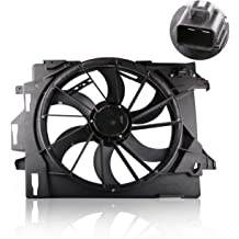 MOSTPLUS Radiator Cooling Fan Assembly for 05-11 Lincoln Town 06-11 Ford Crown Victoria Mercury Grand Marquis Replaces 6W1Z8C607AA