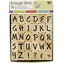 Folk Love EK Success Brands 60-00890 Inkadinkado Wood Stamp