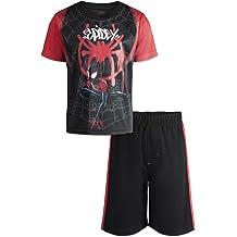 c2c3af98 Marvel Avengers Black Panther Spiderman Hulk Boys' Athletic T-Shirt & Mesh .