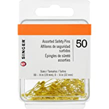 SINGER 00746 T-Pins 50-Count