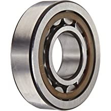 3600rpm Maximum Rotational Speed 66800lbf Dynamic Load Capacity Steel Cage SKF NU 317 ECJ Cylindrical Roller Bearing 180mm OD High Capacity Removable Inner Ring Metric 85mm Bore 41mm Width 75300lbf Static Load Capacity Straight