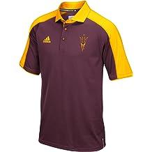 Small NCAA Arizona State Sun Devils Vintage Sheer Short Sleeve Tee Dark Heather