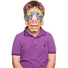 Parties and More Baker Ross Jungle Animal Foam Mask Kits /— Ideal Craft for Kids to Make and Wear as an Accessory for Halloween Costumes Pack of 6 Fancy Dress