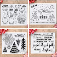 Kwan Crafts Shipment Collect Label Clear Stamps for Card Making Decoration and DIY Scrapbooking