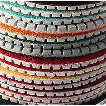 Grit: 2000 Maslin 4 100mm 80//180//240//400//800//1000//2000# Diamond Coated Flat Lap Wheel Lapidary Polishing Grinding Disc D11 dropship