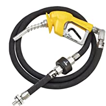 Husky 010385-01 XS Pressure Activated Unleaded Nozzle with Waffle Splash Guard and Balance-to-Conventional Adaptor