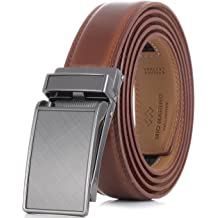 e70770a54 Marino Avenue Men's Genuine Leather Ratchet Dress Belt with Linxx Buckle,  Enclosed in an Elegant