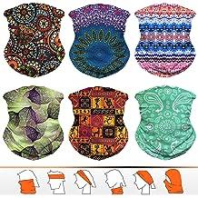 ABANDANAS Unisex Native American Zuni Butterfly Double Sided Print Variety Scarf Headbands Bandana Magic Headband Elastic Seamless Bandana Headwear Head Scarf