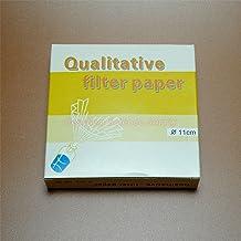 Deschem 180mm 20-25/μm Qualitative Filter Paper OD=18CM Fast Speed 100Sheet//Pack
