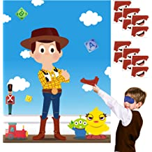 Pin The Eyes and Repulsor Beam On Large Iron Hero Poster Party Activity Hero Room Poster Decor Ticiaga 24pcs Iron Hero Kids Party Stickers Pin Game Superhero Theme Birthday Party Favor Supplies