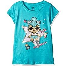 2d922b8c66cb L.O.L. Surprise! Girls' The Glitterati Kitty Queen Short Sleeve T-Shirt