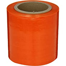 Core 1000 Length x 12 Width x 120 Gauge Thick Goodwrappers OXOV121204 Linear Low Density Polyethylene Green Tint Cast Hand Stretch Wrap On a 3 I.D Case of 4