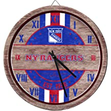 Vintage New York Rangers174; Neon Clock 14 inch Diameter