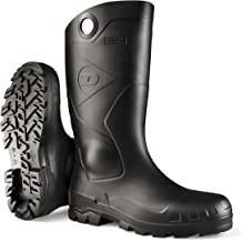 Galeton 13073-S16-BK Repel Footwear Over-The-Shoe Slush Boots Cotton Lined Black Mens Size 16 15.5 high