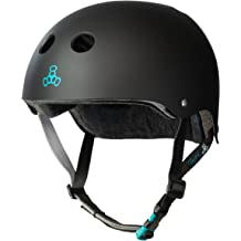 a8989ee0 Triple Eight Tony Hawk Signature Model THE Certified Sweatsaver Helmet for  Skateboarding, BMX, and
