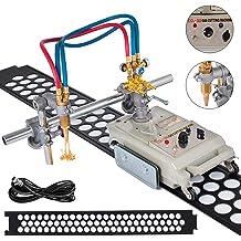 Mophorn CG2-150B Profiling Cutting Machine 220V Track Torch 5-100mm Gas Cutting Machine Square Round Steel Plate Torch Track Flame Cutting Machine