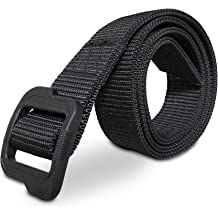 Black//7.9/×1 Inch AIEX 8 Pcs Belt Keeper Nylon Waist Belt Duty Belt with Double Snaps for Outdoor Sports Military Equipment Accessories