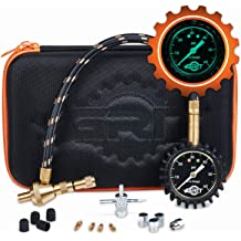 Valve Cores Tyre Pressure Gauge Rapid Air Down Offroad Kit with Valve Caps Slotted Slot Valve Cap and 4-Way Valve Tool Valve Tool WYNNsky Tire Deflator Tool