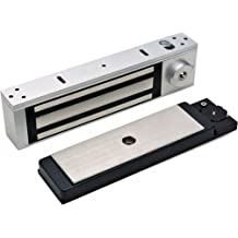 Liveday Electric Magnetic Lock 60KG Home Security System Secure NC Mode High Strength Material Durable for Door Entry Access