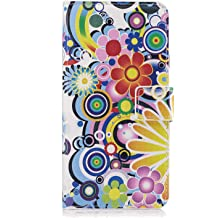 Huawei P20 Flip Case Cover for Huawei P20 Leather Extra-Durable Business Kickstand Mobile Phone Cover Card Holders with Free Waterproof-Bag Blue4