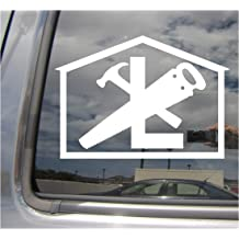 Chainsaw Sawyer Pruning Logger Ice Car Bumper Window Vinyl Decal Sticker 10293