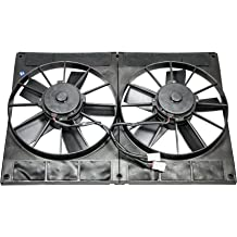 Top Street Performance HC7103 Pro Series 12 Radiator Fan with Computer Balanced Curved Blade