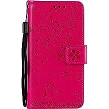LOYYO070099 Gold Lomogo Samsung Galaxy J7 Star//J7 Crown//J7V 2nd Gen//J7 Aura Case Leather Wallet Case with Kickstand Card Holder Shockproof Flip Case Cover for Galaxy J7 2018