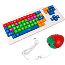 USB Desktop Computer Notebook External Gaming Office Keyboard Color : White Ultra-Thin Silent Wired Keyboard Silver White Jingfeng Mechanical Keyboard 24 Key Conflict-Free Design.