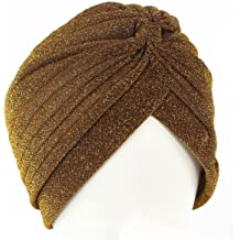 Qhome Girls Chunky Warm Beanie Double Wood Button Skully Cap Kids Hat Turban Children Turbante Hair Accessories