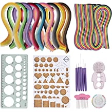 Yellow Quilled Creations 1-075 Quilling Paper 50 Per Package 1//8-Inch