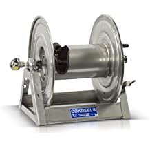 30 hose capacity 2500 PSI 30/' hose capacity Coxreels EZ-P-MPL-430 Safety Series Spring Rewind Hose Reel for air//water//oil: 1//2 I.D. less hose