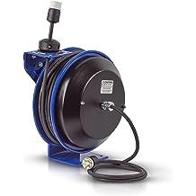 Coxreels 112Y Series Challenger Cord Storage Reel Model# 112Y-4,Blue,3//8