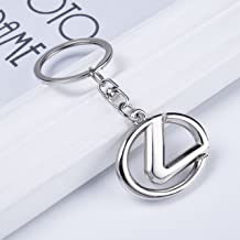 GS Car Keychain Chrome Keyring Key Chain Chains Ring For GS F GS350 GS300 Series