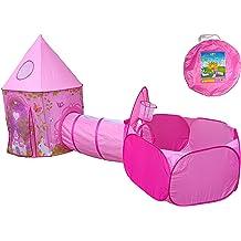 yuandao Kids Pop up Tent with Panda Shape Panda 75 x 35 DxH Foldable Pop up Tent for Kids Indoor and Outdoor Playhouse
