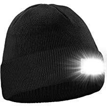 POWERCAP LED Hat 25//10 Ultra-Bright Hands Free Lighted Battery Powered Headlamp Unstructured Canvas