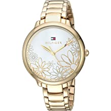 5c0b43c4 Tommy Hilfiger Women's Leila Quartz Watch with Gold-Tone-Stainless