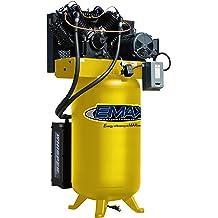 Industrial Duty Model EATOS60S1P by EMAX Compressor 6 Orbital Air Sander with Vacuum 6