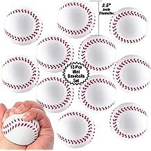 "Dozen 2.25/"" Baseball Return Balls Favor Party Gift Bag Fillers Prize Assortment"