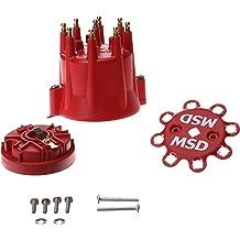 TSP Pro Billet//Ready 2 Run 8 Cyl Male Cap /& Rotor Kit JM6971BK