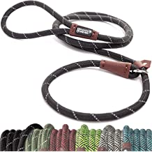 DCSUIT Slip Leads Dog Leash Pet Rope 6 FT Strong Pulling Durable Leashes with O-Ring,6 Colors Soft Strap for Puppy//Doggie,Easy Control for Grooming//Shelter//Rescues//Walking//Training,etc.