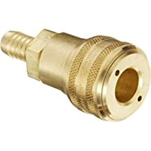 Socket Eaton Hansen 3SB3 Brass ISO-B Interchange Pin Lock Pneumatic Fitting 1//4 Hose ID 1//2 Hose OD 1//4 Body