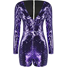 IRISIE Women Solid Knitted Vertical Stripe Backless Halter Jumpsuit Romper