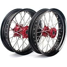 ProTrax Complete Rear Wheel Rim 19X 1.85 Red Hub HONDA CR125 CR250 2002-2007