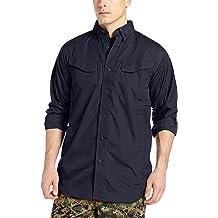 Tru-Spec Long-Sleeve Tactical Shirt Poly-Cotton Ripstop Navy XL-Long 1367026
