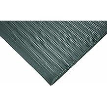 Black 5 Length x 2 Width x 3//8 Thick Wearwell 451.38x2x5BK Tuf Sponge Mat